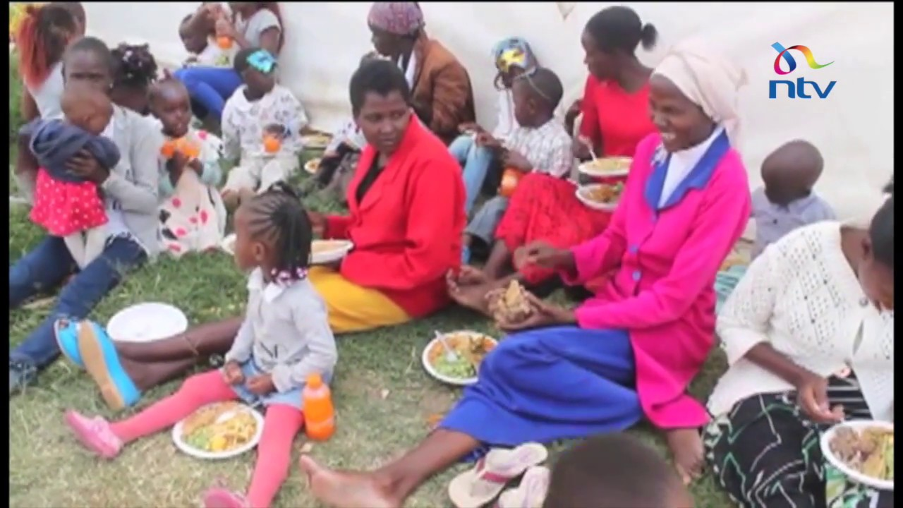 Early Christmas for vulnerable children in Laikipia
