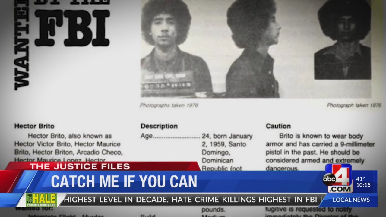 The Justice Files: 'Catch me if you can'