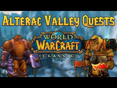 Alterac Valley Quest Guide - WoW Classic