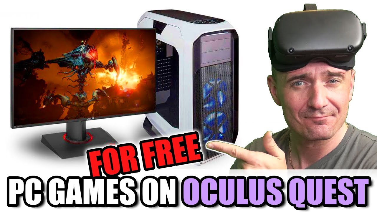 HOW TO play ALL PC Games on Oculus Quest with this FREE App!