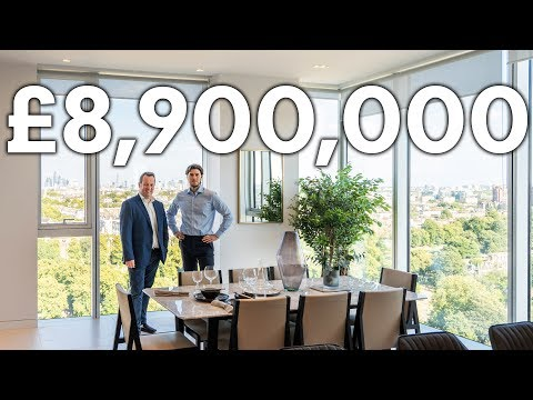 Inside an Incredible £8.9 Million Duplex Penthouse