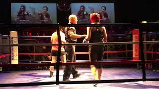 Jana D Vs Lydia K - Womens White Collar Boxing Match