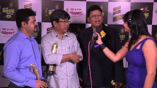 H D'Souza,DJ Phukan,Sunny MR on winning Song Programmer & Arranger at the Mirchi Music Awards