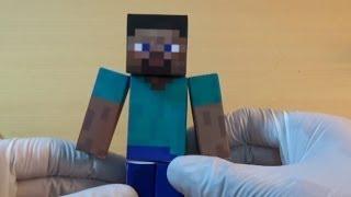 MINECRAFT Papercraft(Steve)(マインクラフトのペーパークラフト)