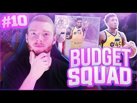 BUDGET SQUAD #10 - TWO NEW PINK DIAMONDS!! NBA 2K18 MYTEAM!