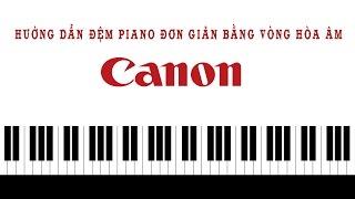 Hướng dẫn đệm hát Piano đơn giản bằng vòng hòa âm Canon.
