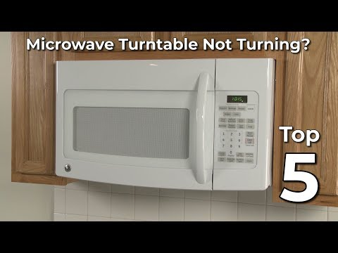 Microwave Turntable Not Turning? Microwave Oven Troubleshooting