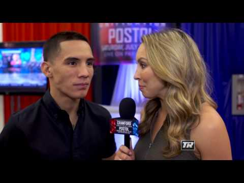 Oscar Valdez Interview | Final Undercard Presser | Crawford-Postol