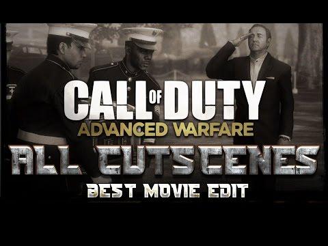 Call of Duty Advanced Warfare All Cutscenes Movie 1080p