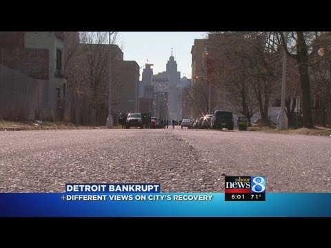 Detroit Bankrupt: Different views on recovery