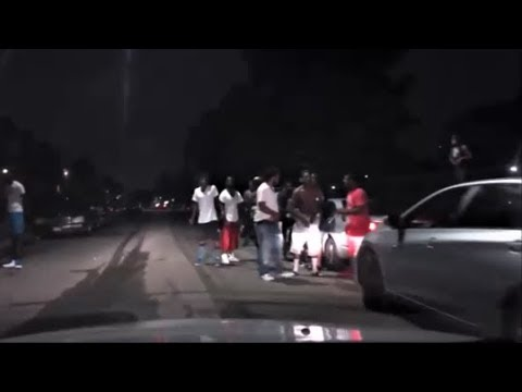 DETROIT'S MOST GHETTO STREETS AT NIGHT COMPILATION