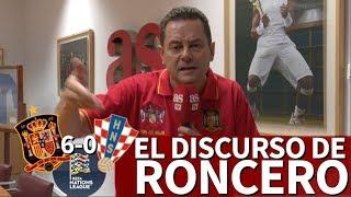 España 6-0 Croacia | Roncero encantado tras la goleada, se enfadó recordando el Mundial | Diario AS