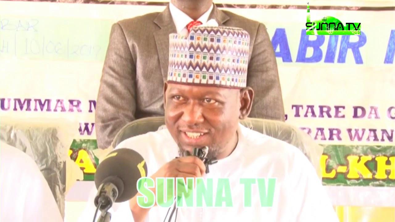 Download Sheikh Kabiru Haruna Gombe || BAYAN RABUWAR AURE...