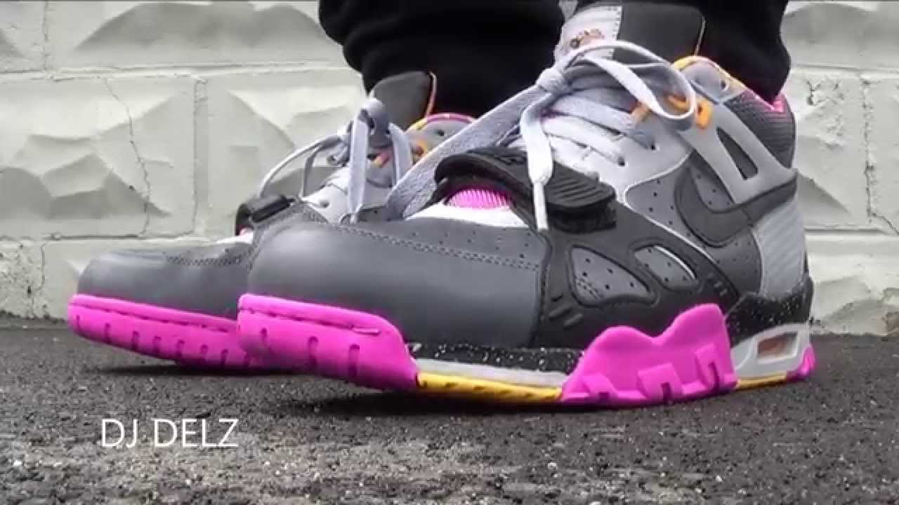 Nike Air Trainer 3 Bo Jackson Knows Horse Racing Shoe Review + On Feet With  Dj Delz - YouTube 2dbfc0c0a