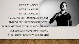 frank turner little changes official lyrics