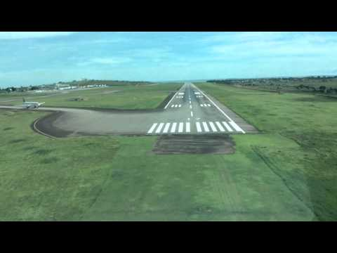 Uganda Entebbe flight over