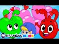 Orphle's Valentines Party |  My Magic Pet Morphle | Cartoons for Kids | Moonbug kIds