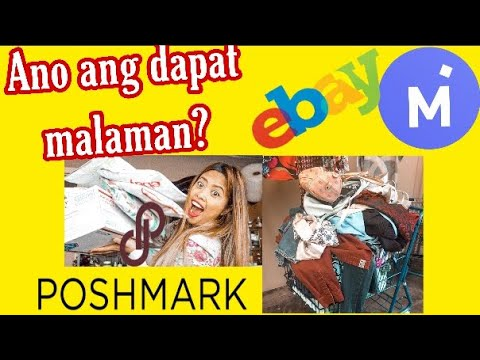 How to start the selling online Postmark Ebay Mercari Pinay Business at home what i need to know?