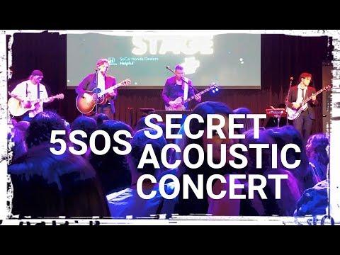 5SOS- Secret Acoustic LA Concert FULL (9-11-19)