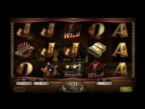 Slot Gangster World - Big Win