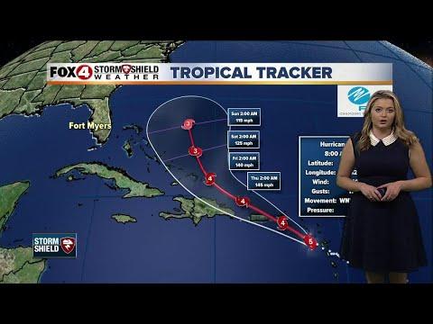 Hurricane Maria -- 8am Tuesday update