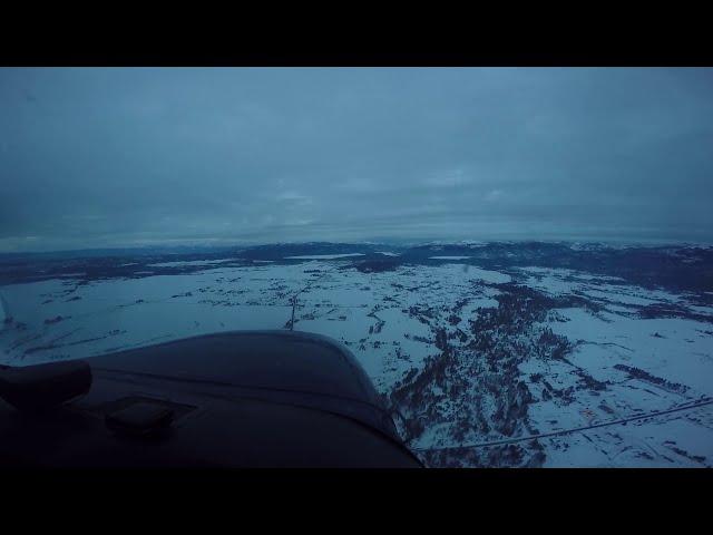 Solo xc flight from Ontario Oregon (KONO) to McCall Idaho (KMYL)