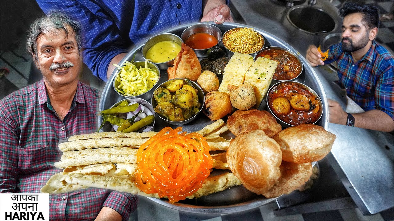 120 Year Old Indian Food Restaurant | Chandravilas Unlimited Thali at 150/-