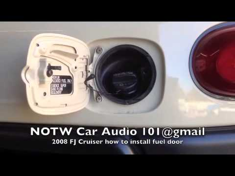 How To Install Ami 6071kc Fuel Door 2008 Toyota Fj Youtube