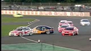 Alain Menu & Jason Plato   Silverstone 2000