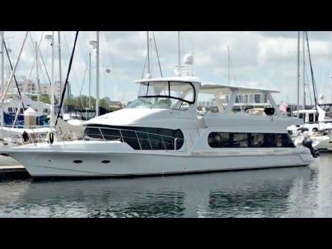 Bluewater 6800 Motor Yacht Walkthrough by Joe Zammataro at Preferred Yachts