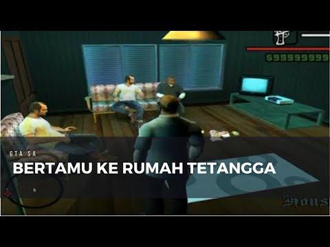 BERTAMU KE RUMAH TETANGGA | GTA SA MOD