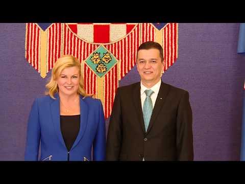 6/12/17: Zagreb - Vizita la Președinția Republicii Croația.
