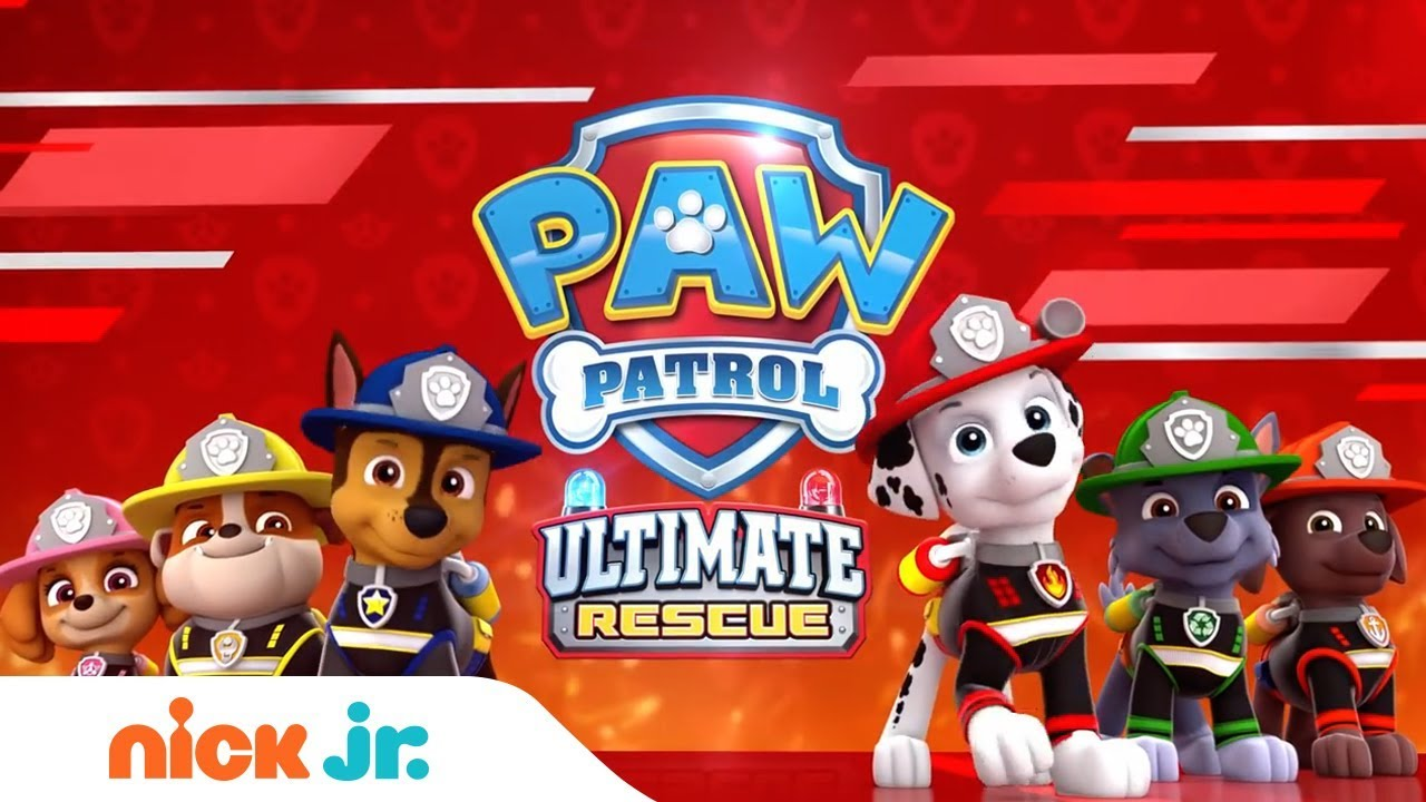 PAW Patrol Ultimate Fire Rescue 🚒 Official Trailer | NEW Episode on Sept  21st | Nick Jr