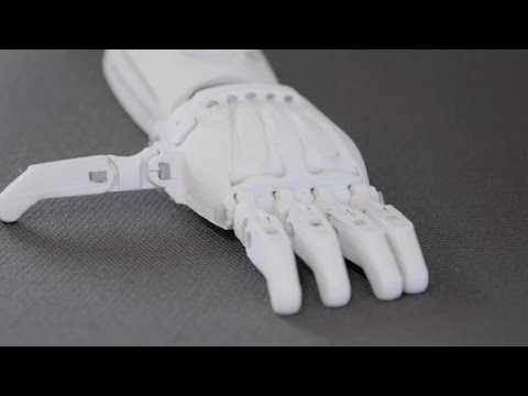 How Are Old Fridges Turned Into Prosthetic Hands?