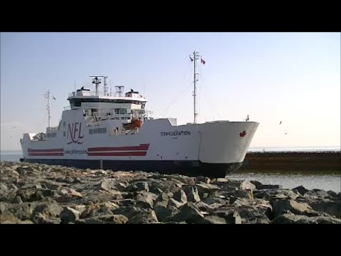MV Confederation Car Ferry, Wood Islands, P.E.I.