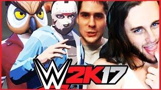 PopularMMOs & Ssundee vs. H2O Delirious & Vanoss | SEMI FINAL | WWE 2K17 [s3e14]