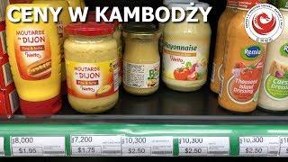 Koszt prostych zakupów w Kambodży - Kambodża #39