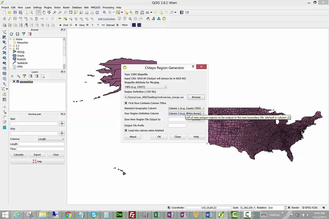 Creating your own Regional Maps for Analytics