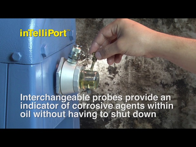 OilSafe® InTelliPort™ - Fluid Analysis System and Sight Glasses