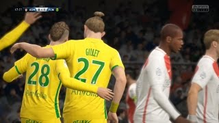 [Fifa17] AS Monaco vs FC Nantes | Ligue 1 | Journée 28 | 05 Mars 2017