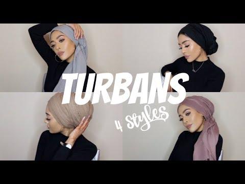 MY MOST WORN TURBAN STYLES  Hijab Tutorial  MishaArtistry