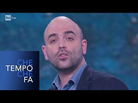 Roberto Saviano e il razzismo in Italia - Che tempo che fa 24/02/2019