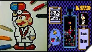 Pixels Made Simple-Dr.Mario