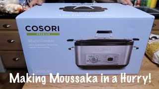 Cosori Premium Multi-Cooker - Making Moussaka in a Hurry!