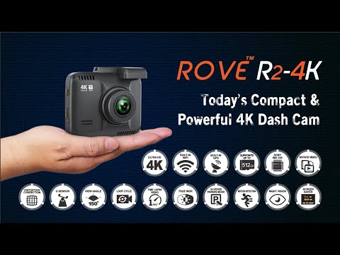 ROVE R2 4K Dash Cam || Official Video 2020