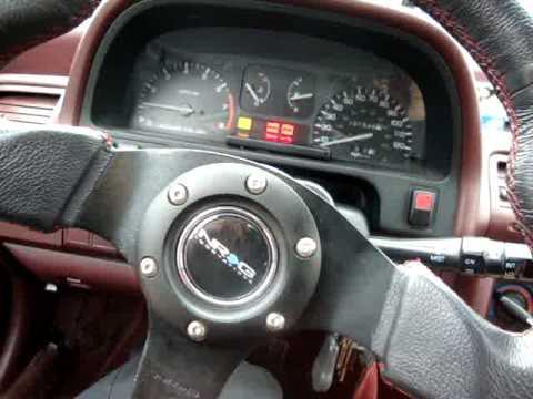 2010 Honda Civic Si >> 1990 Honda civic EX obd0-obd1 conversion. - YouTube