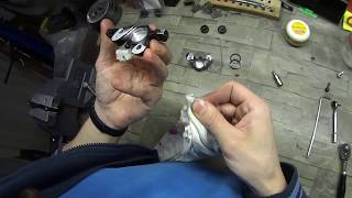 sRAM DB тормозной калипер переборка