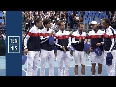 Coupe Davis 2018 - France / Pays-Bas - Minute Bleue #6 : Montagnes Russes | FFT