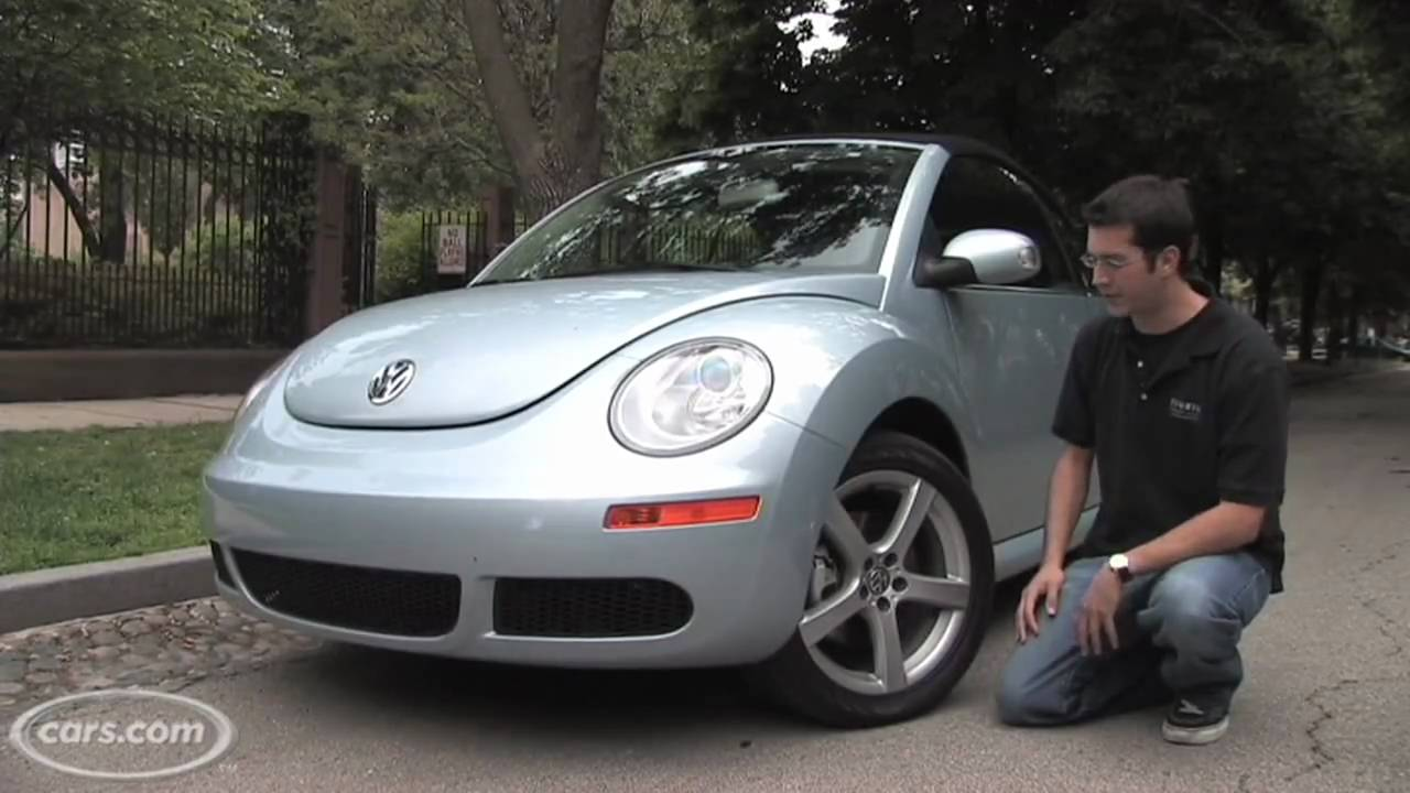 Volkswagen Beetle Convertible For Sale >> 2009 Volkswagen New Beetle Convertible - YouTube