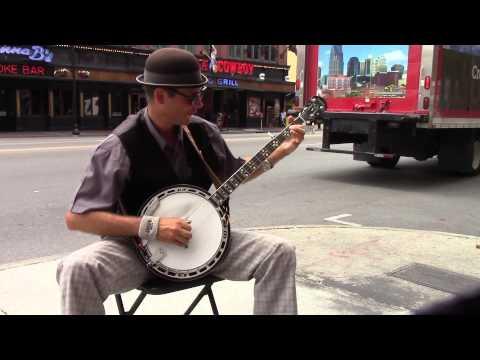 Banjo on the Streets of Nashville, TN